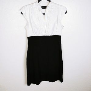 Max and cleo tuxedo style dress